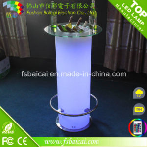 Nightclub LED Cocktail Table, LED Light up Bar Table, LED Bar Table pictures & photos