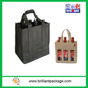 3&6 Wine Bottle Non Woven Shopping Bag pictures & photos