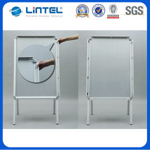 Double Sided Banner Stand Folding Poster Board (LT-10) pictures & photos