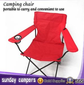 Hot Selling Folding Red Camping Chair pictures & photos
