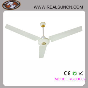 12V DC Brushless Motor 56inch Solar DC Ceiling Fan pictures & photos