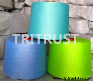 100% Spun Polyester Yarn for Sewing Thread pictures & photos