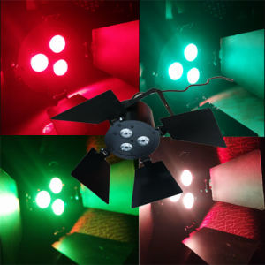 3PCS 9W RGB LED Mini PAR Light pictures & photos