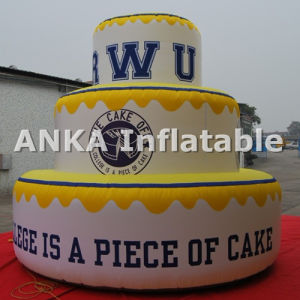 Giant Inflatable Cake Replica Character for Birthday pictures & photos