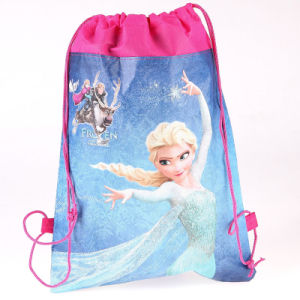 Wholsesale Frozen Drawstring Bag for Kids pictures & photos