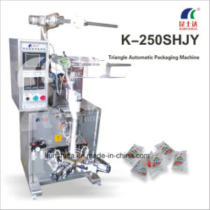 Semi-Automatic Triangle Packing Machine (hand-feeding) pictures & photos