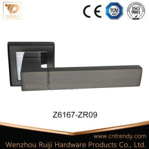 Aluminum or Zinc Alloy Door Lever Handle on Rose (Z6167-ZR09) pictures & photos