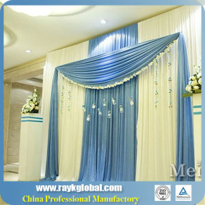 Aluminum Portable Wedding Pipe and Fittings Backdrop pictures & photos