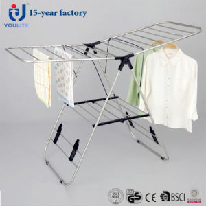 Stainless Steel Foldable Multi-Purpose Clothes Drying Rack pictures & photos