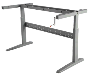 Ergonomic Height Adjustable Office Desk Frame (LDG-02021) pictures & photos