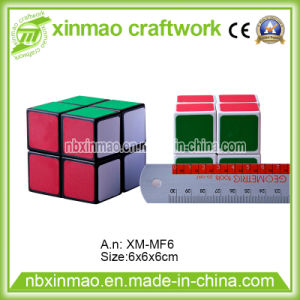 6cm 2 Layers Rubiks Cube with Base Color for Toys. pictures & photos