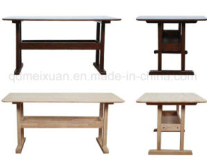 Solid Wooden Dining Desk (M-X2658) pictures & photos
