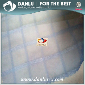 50d Polyester Fabric with Big Check for Garments pictures & photos