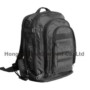 Factory Professional Black Waterproof Backpack Laptop Bag (HY-B022) pictures & photos
