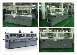 Automatic Plastic Curved Surface Multi Colors Screen Printing Equipment Price pictures & photos