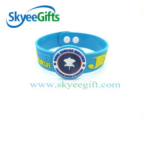 Low Price Custom Soft PVC Wristband pictures & photos