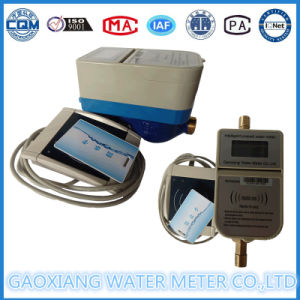 Brass Material IC Card Prepaid Water Meter (DN15-DN25) pictures & photos