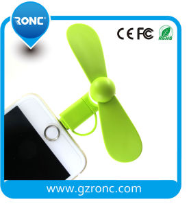Christmas Promotion Gift Mobile Phone Mini USB Fan pictures & photos