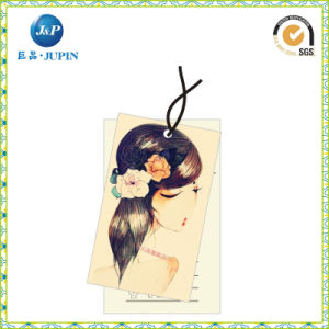 Best Price New Style Plastic String Garment Hang Tag (JP-HT064) pictures & photos