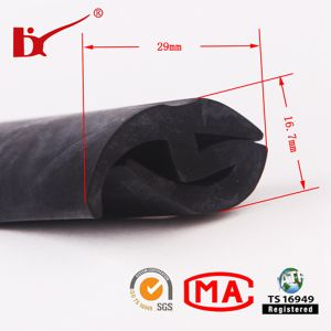 Co-Extrusion Automobile Rubber Edge Trim pictures & photos