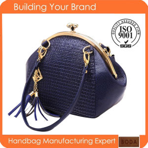 2015 China Supplier Lady Leather Fashion Handbag pictures & photos