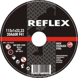 En Standards Abrasive Cutting Wheel for Stainless Inox