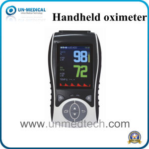 2.8 Inch Handheld Pulse Oximeter with CE pictures & photos