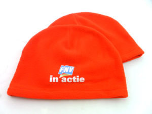 Custom 100% Polyester Fleece Winter Hat pictures & photos