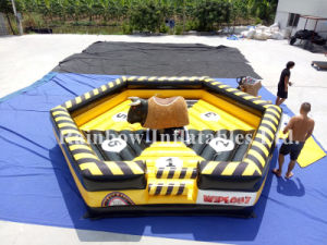 Inflatable Mechanical Bull Game Mattress pictures & photos