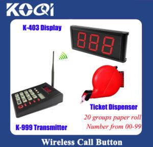 Simple Ticket Dispenser Queue Management System pictures & photos