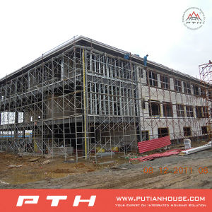PU Sandwich Wall Panel Prefabricated Steel Structure Building pictures & photos