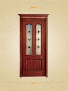 Luxury Style Classic Solid Oak Wood Doors pictures & photos