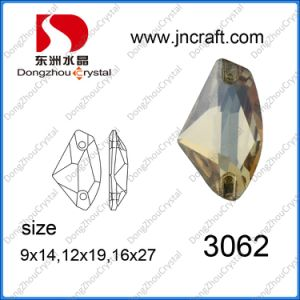 Flat Back Crystal Loose Sew on Stone for Garment (DZ-3062) pictures & photos