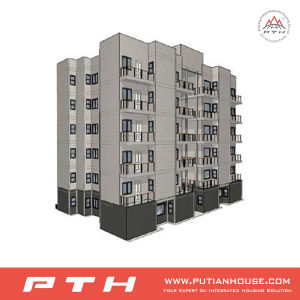 High Cost-Effective Multi-Story Light Steel Building with Exclusive Design pictures & photos