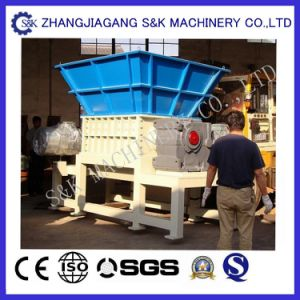 Plastic Film Big Bags Double Shaft Shredder pictures & photos