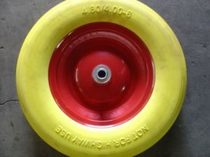 PU Wheel 400-8 pictures & photos
