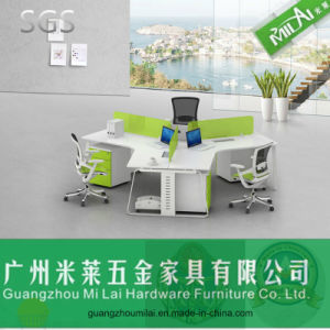 Popular Modular Easy Assembling Office Partition Office Furniture with Metal Leg pictures & photos