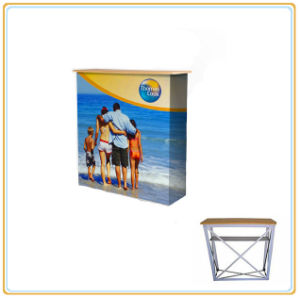 Exhibition Portable Counter, Promotion Counter, Display Folding Promotion Table pictures & photos