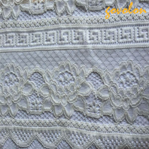 Allover Knitting Lace Fabric pictures & photos