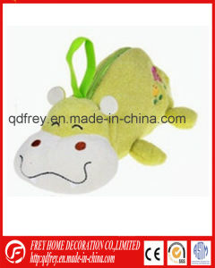 Cute Promotiona Gift Pencila Bag of Plush Hippo Toy pictures & photos