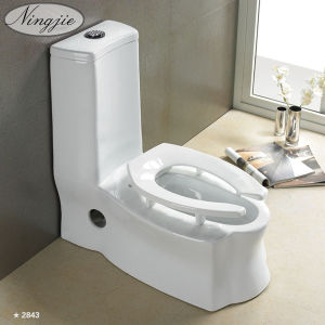 New Design Sanitary Ware Washdown One-Pices Toilet (2843) pictures & photos