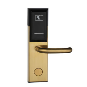 Purple Bronze Color RF57 Hotel Door Lock as Promotion Model pictures & photos