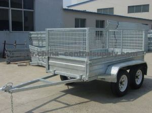 Factory Made 8X5 Cage/Box Trailer (CT0080E) pictures & photos