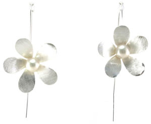 Top Quality Fashion Lady Jewelry 925 Silver Pearl Earring (E6572) pictures & photos