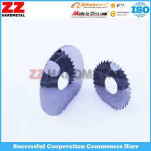 Cemented Carbide Slitting Saws Circular Knives pictures & photos