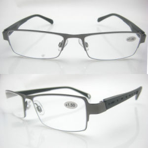Chain 2015 Fashion Designed Stainless Reading Glasses pictures & photos