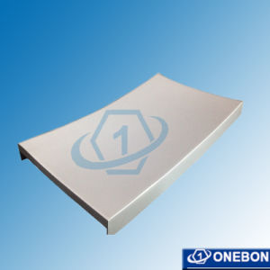 Cream White Curved Aluminum Panel for Facade pictures & photos