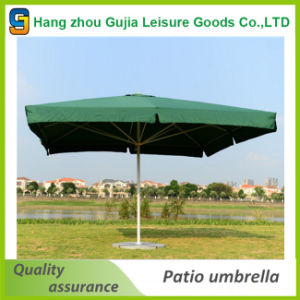 Custom Printed Promotional 4X4 Square Parasol Umbrella