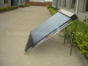 Flat Roof Closed Loop Heatpipe Solar Collector pictures & photos