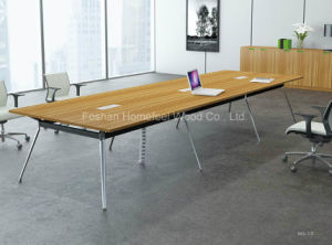 Modern Rectangle Shape Meeting Table/ Conference Table Rectangle (HF-YZ013) pictures & photos
